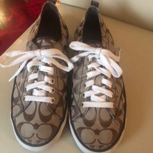 COACH sneakers (worn with love)